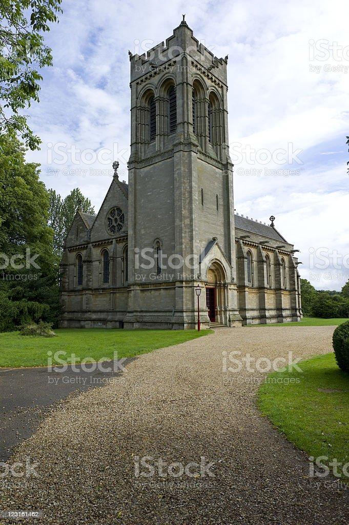 St Mary's Church, Woburn, UK stock photo
