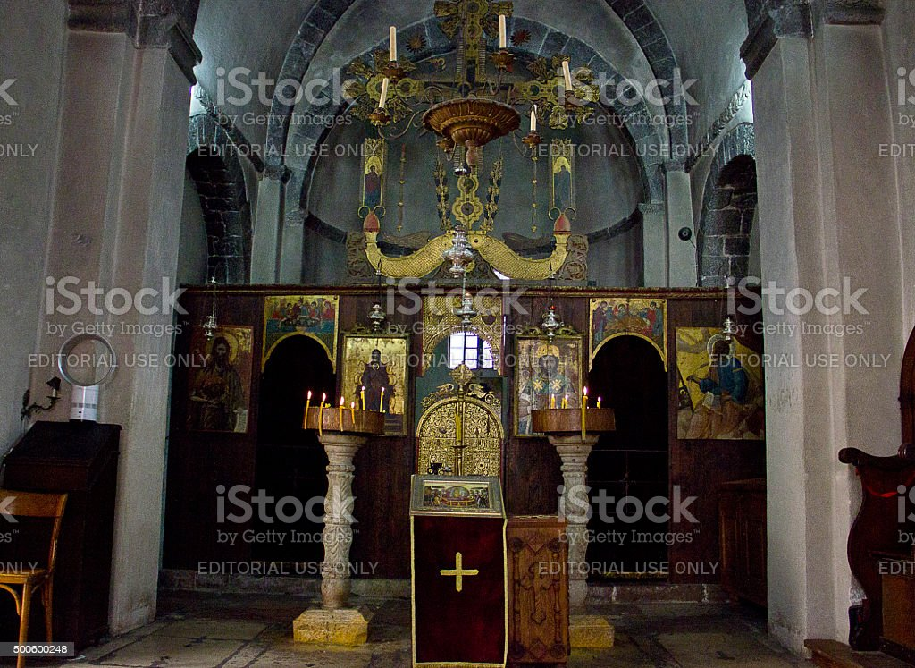 St Marys Collegiate Church, Kotor stock photo