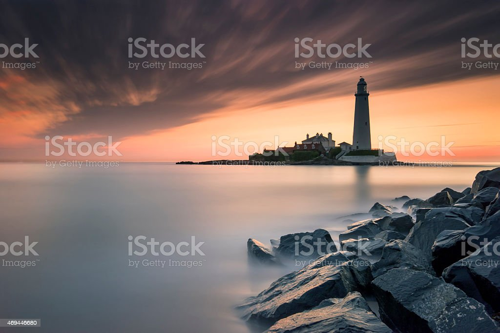 St Mary's in the morning royalty-free stock photo
