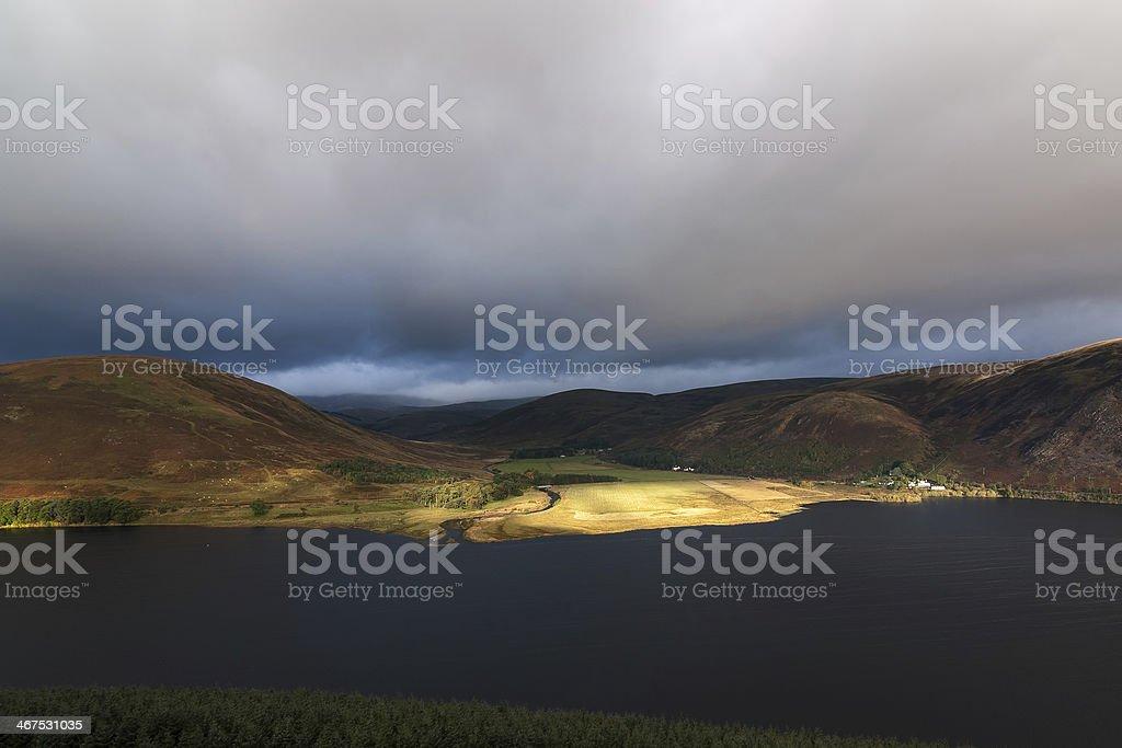 St Marys Loch stock photo