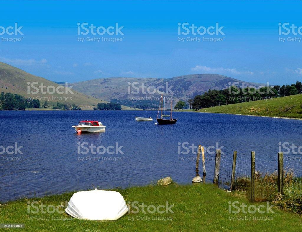 St. Mary's Loch, Selkirk, Scottish Borders stock photo