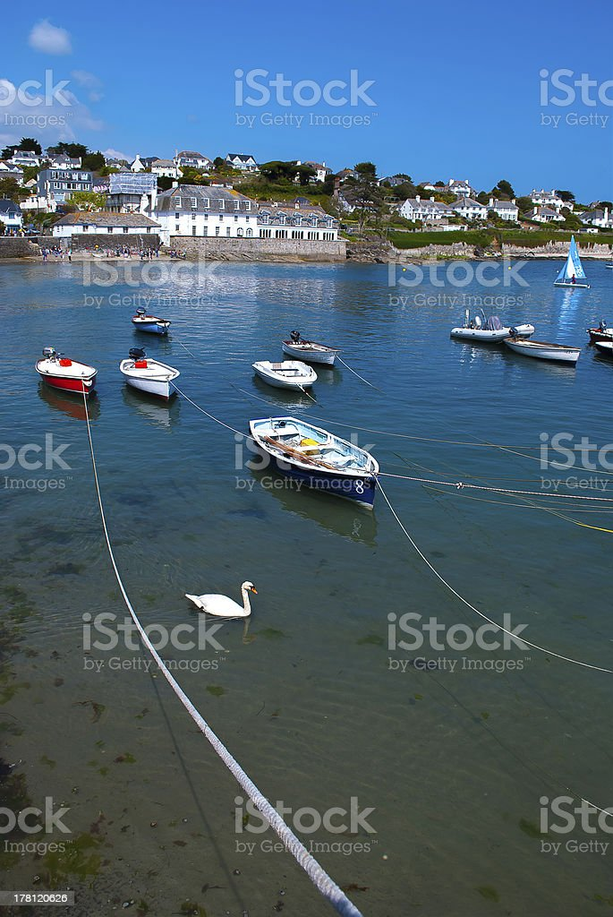 St Mawes, Near Falmouth, Cornwall. stock photo