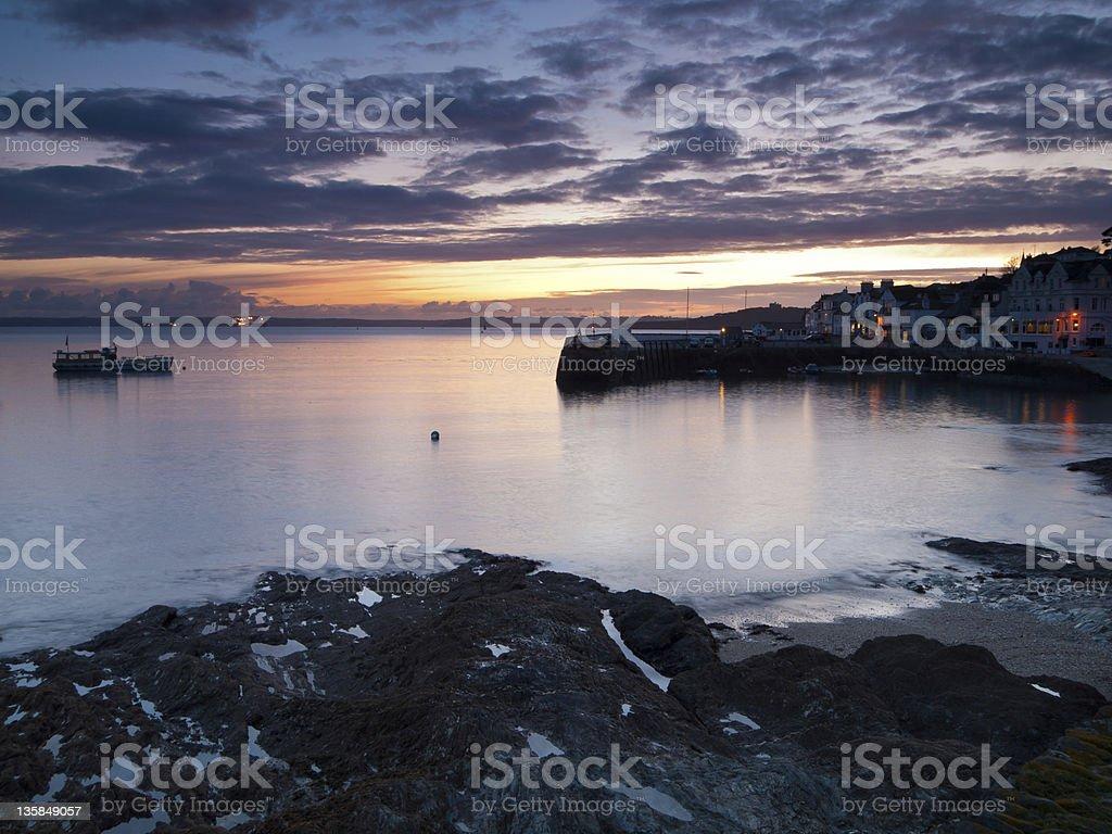 St Mawes photo libre de droits