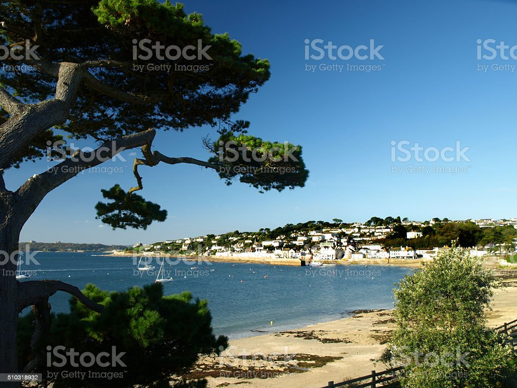St Mawes stock photo