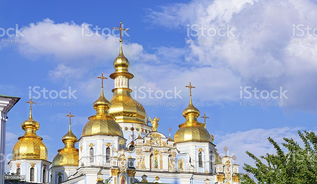 St. Michael Cathedral royalty-free stock photo