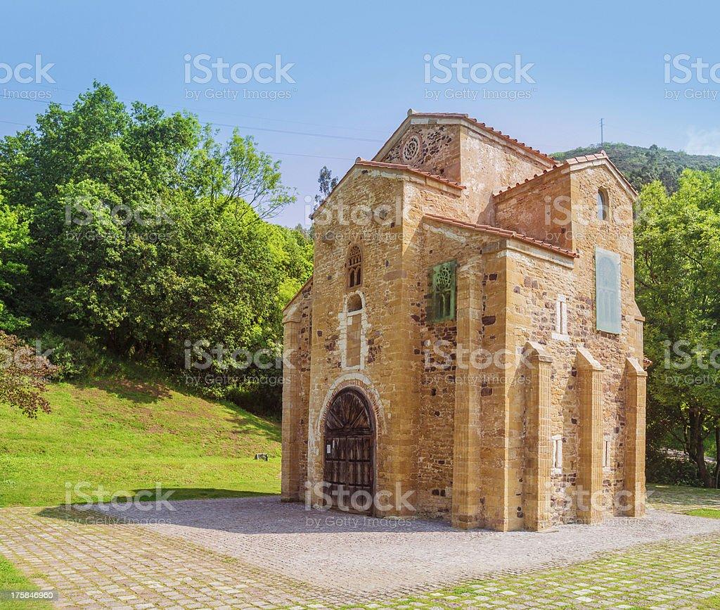 St. Michael of Lillo stock photo