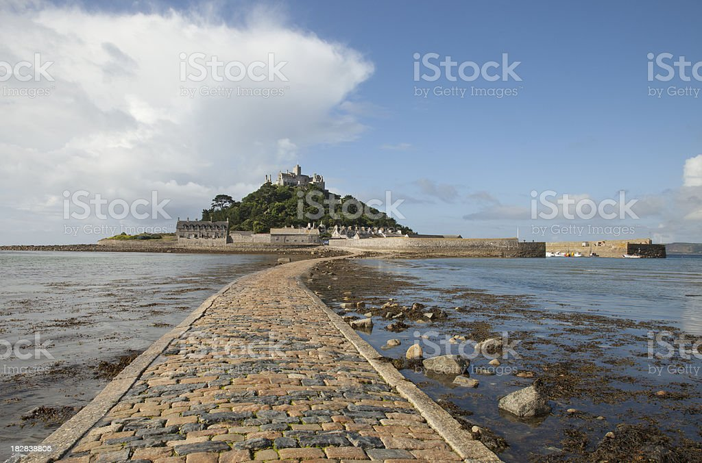 St Michael's Mount, Cornwall stock photo