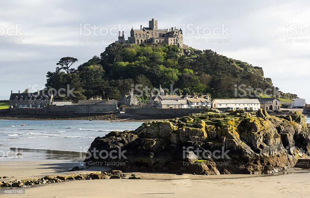 St Michaels Mount, Cornwall stock photo