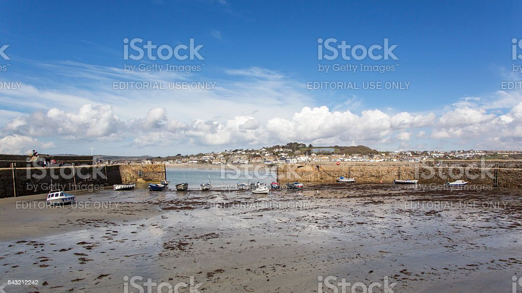 St Michael's Mount - Cornwall stock photo