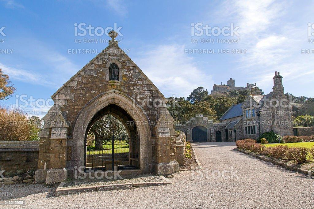 St Michael's Mount - Cornwall stock photo