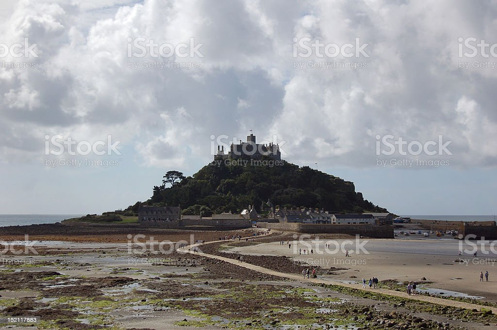St Michaels Mount, Cornwall, UK royalty-free stock photo
