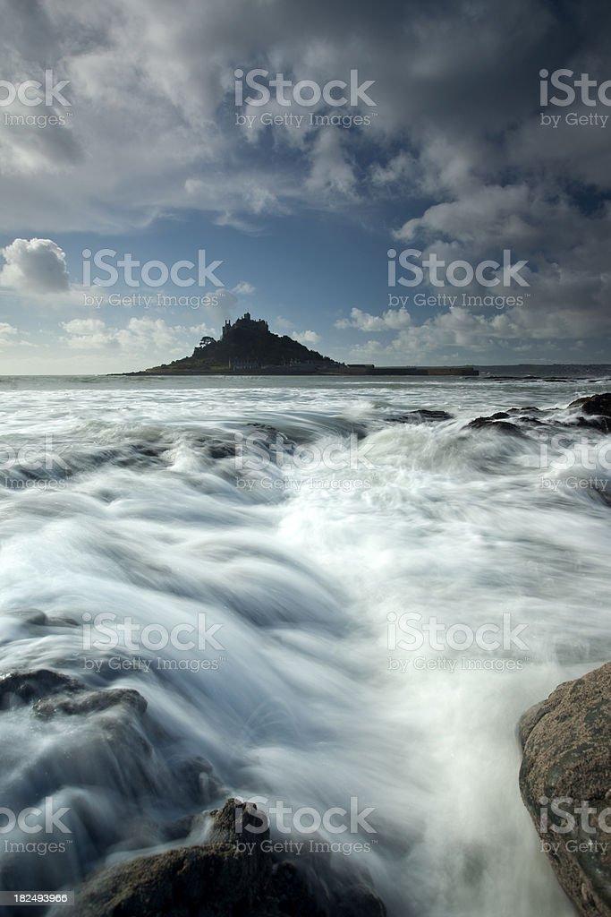 'St Michaels Mount, Cornwall, U.K' stock photo