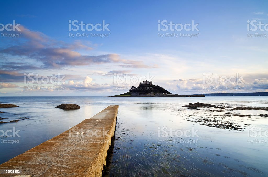 St Michael's Mount In Cornwall stock photo