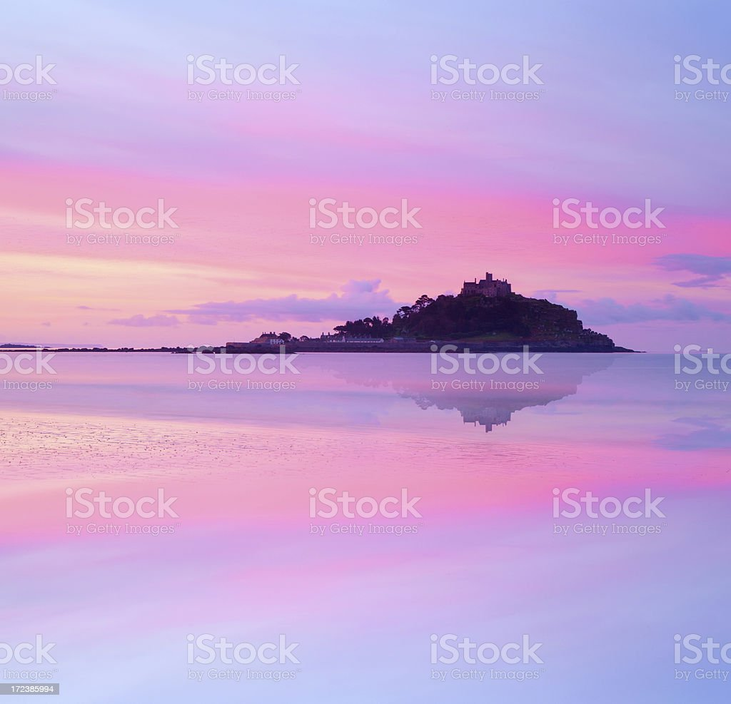 St Michael's Mount royalty-free stock photo