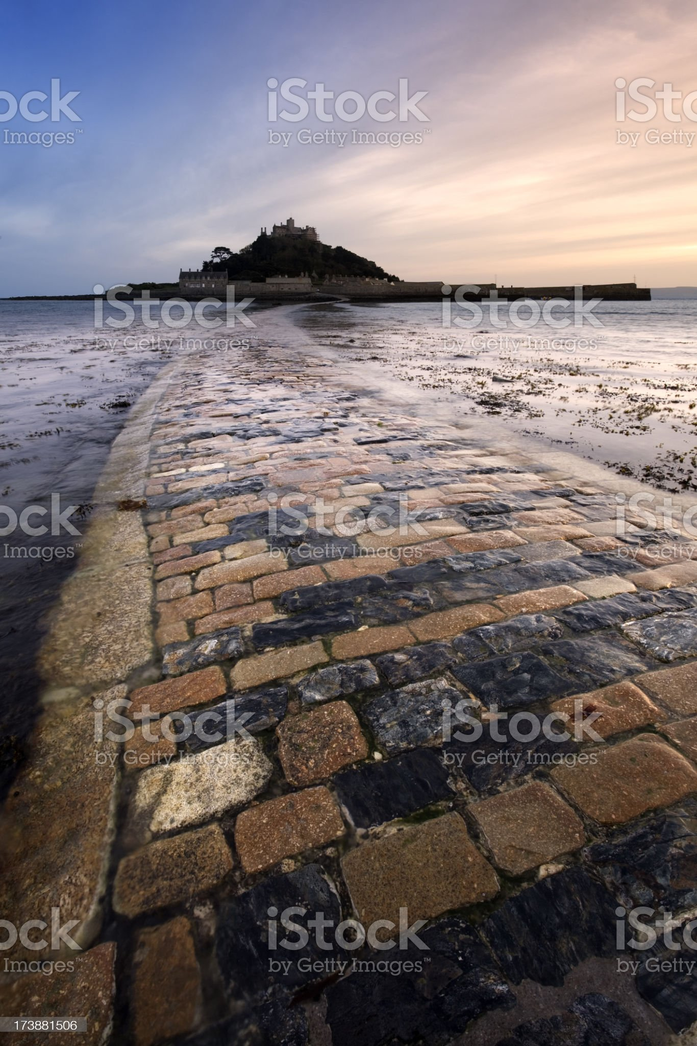 St. Michael's Mount royalty-free stock photo