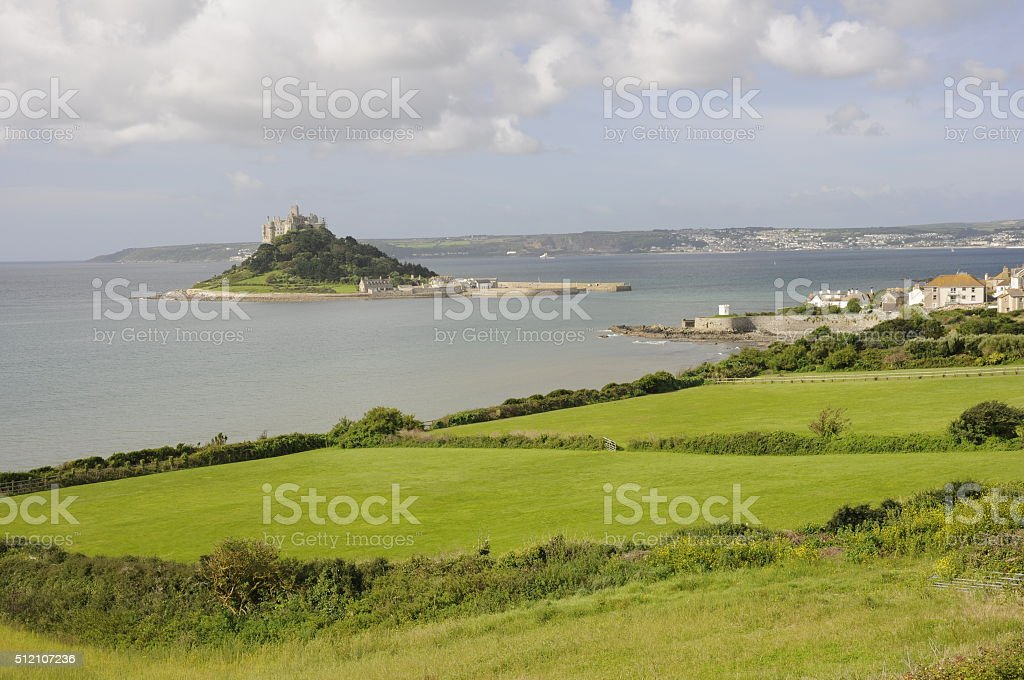 St Michaels Mount stock photo