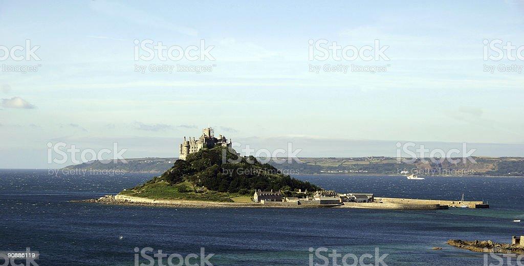 St Michael's Mount royalty-free stock photo