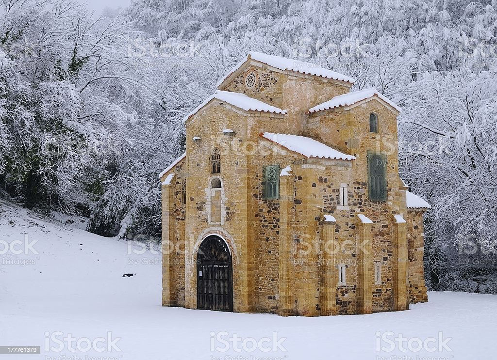 St Miguel of Lillo. stock photo