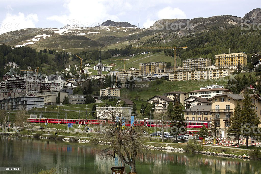 St. Moritz, Switzerland royalty-free stock photo