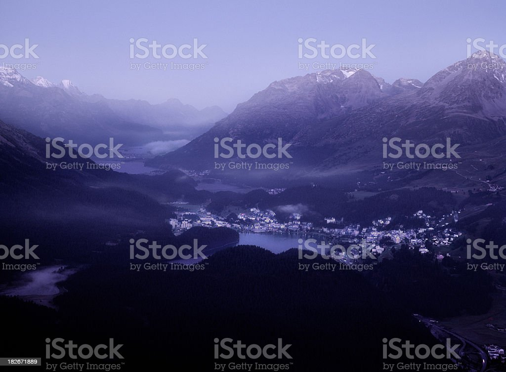 St. Moritz, Switzerland. stock photo