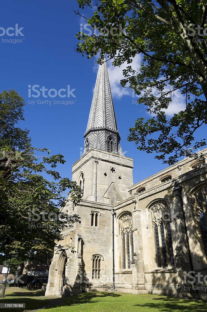 St Nicholas Chapel, King's Lynn royalty-free stock photo