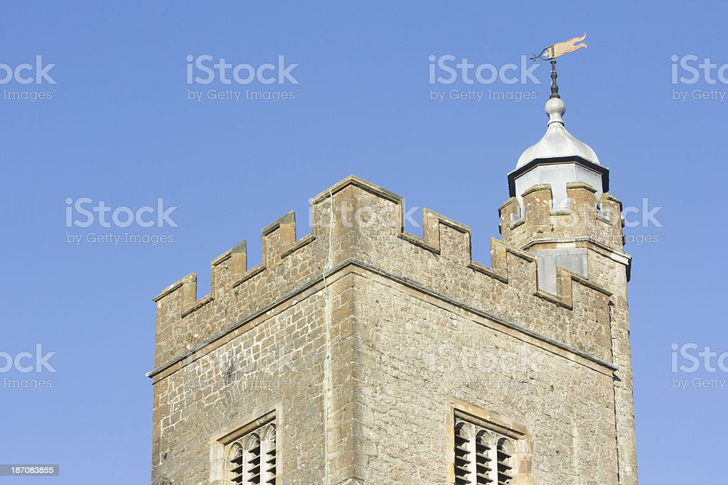 St Nicholas Church in Sevenoaks, England royalty-free stock photo