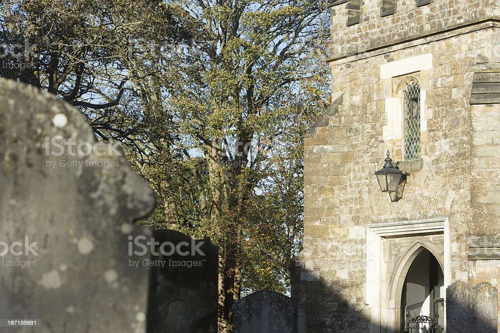 St Nicholas Church in Sevenoaks, England royalty-free stock photo