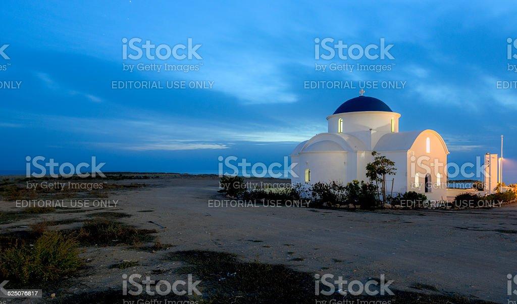 St Nicholas Church, Paphos, Cyprus stock photo
