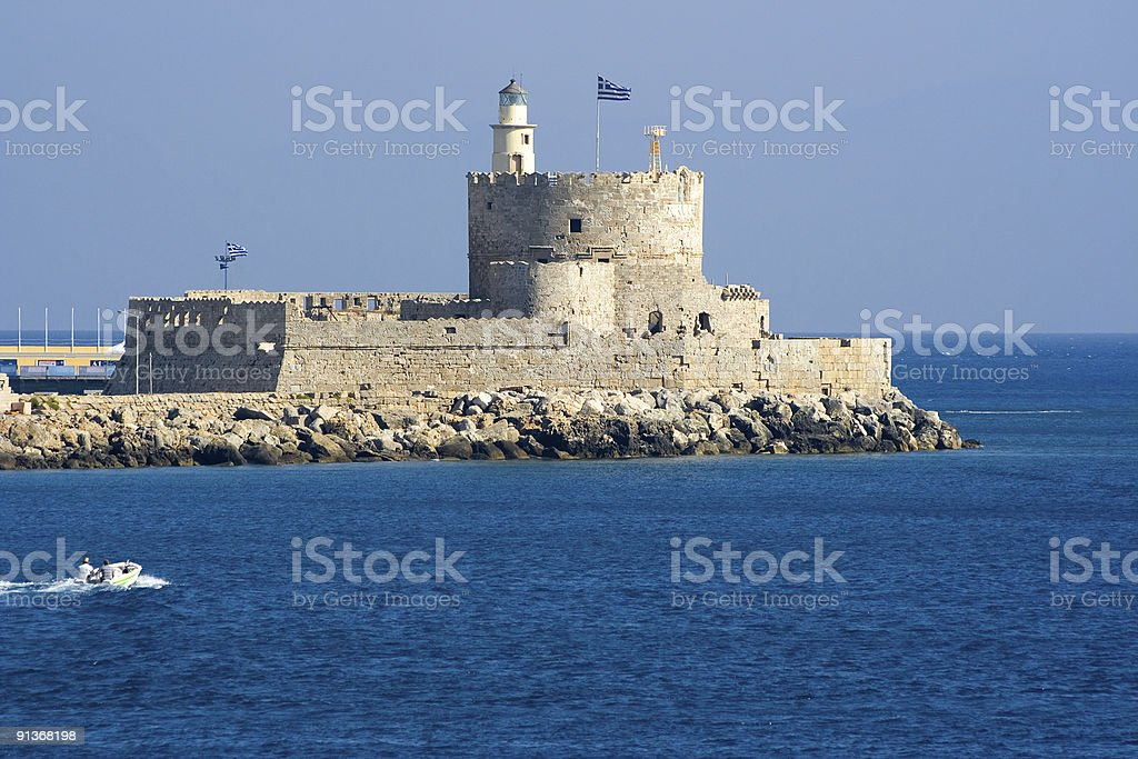 St. Nicholas Fortress royalty-free stock photo
