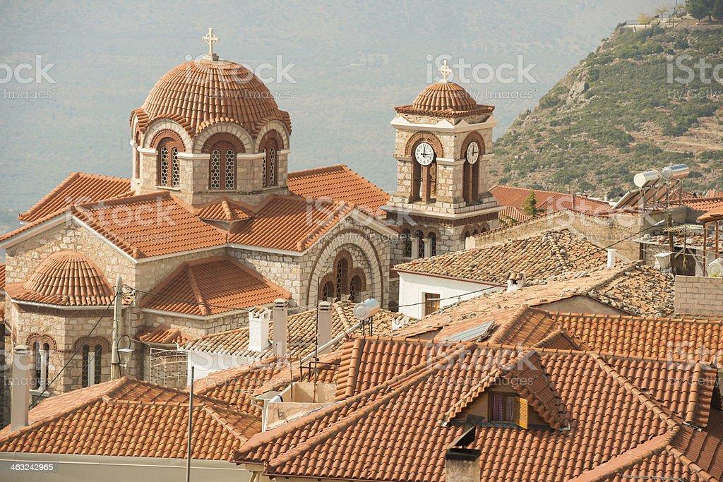St Nicholas Greek Orthodox Church stock photo