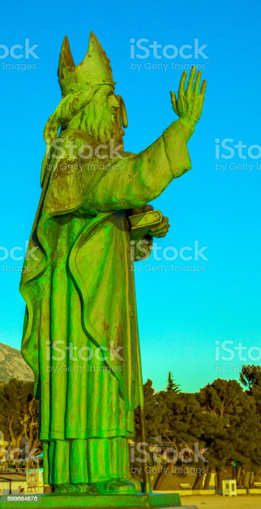 St. Nicholas stock photo