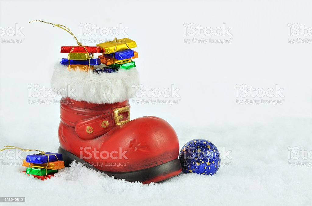 St Nicholas`Day stock photo