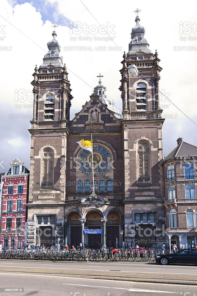 St. Nicolaaskerk (Church of Saint Nicholas), Amsterdam. royalty-free stock photo