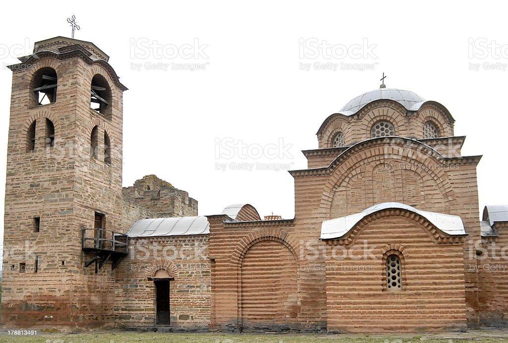 St. Nicolas Monastery in Kursumlija royalty-free stock photo