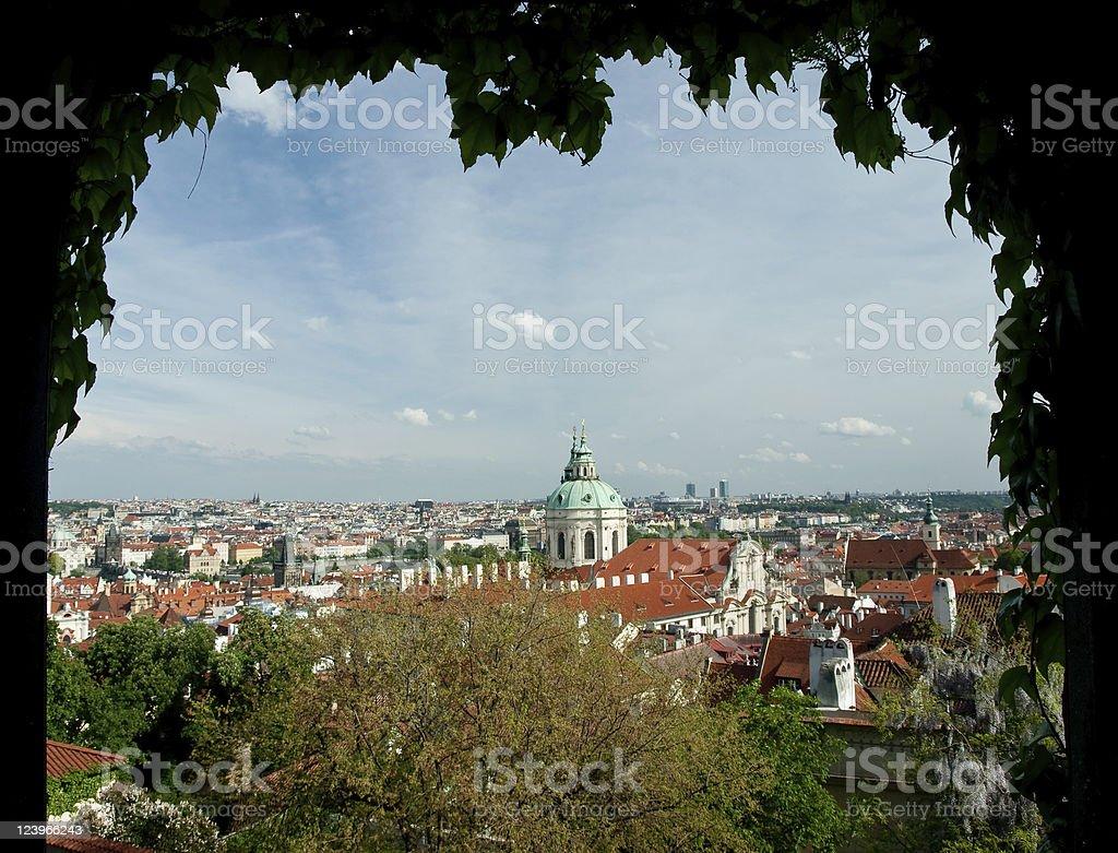 St. Nicolas tower stock photo