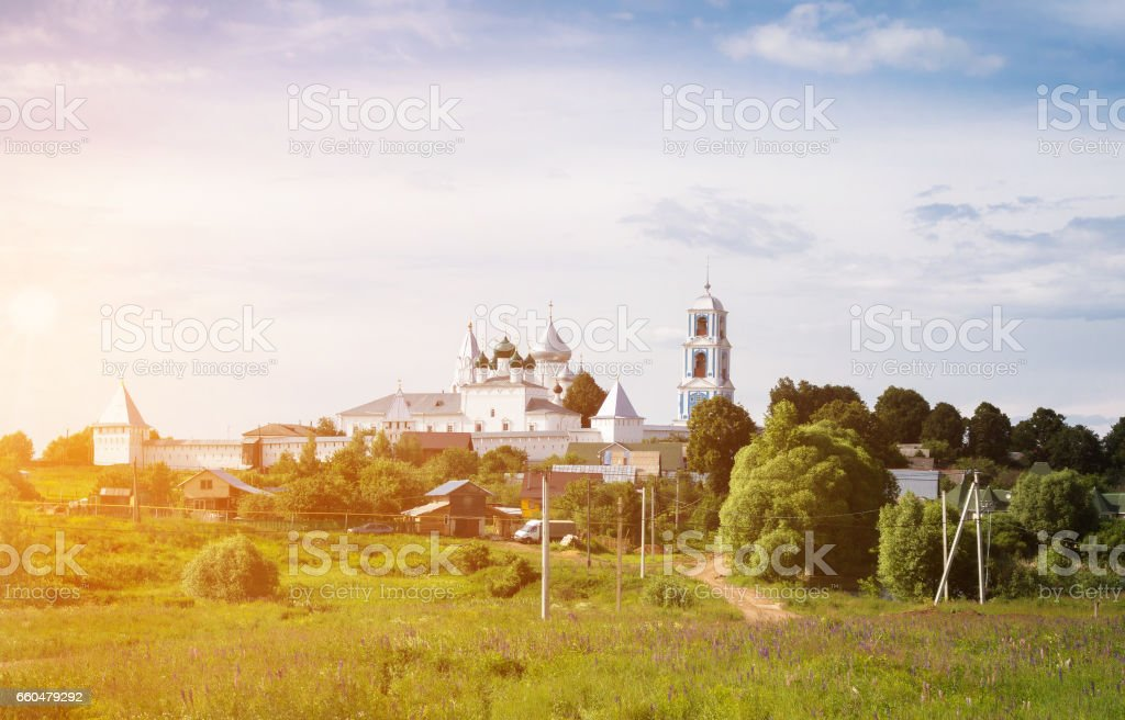 St. Nikita's monastery stock photo