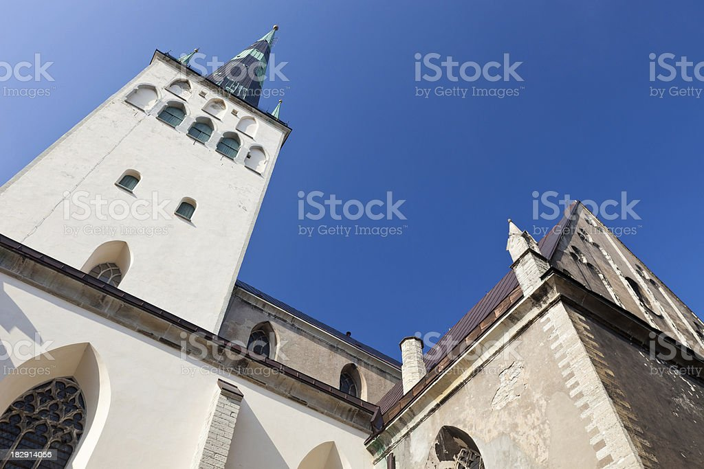'St. Olaf's Church In Tallinn, Estonia' stock photo