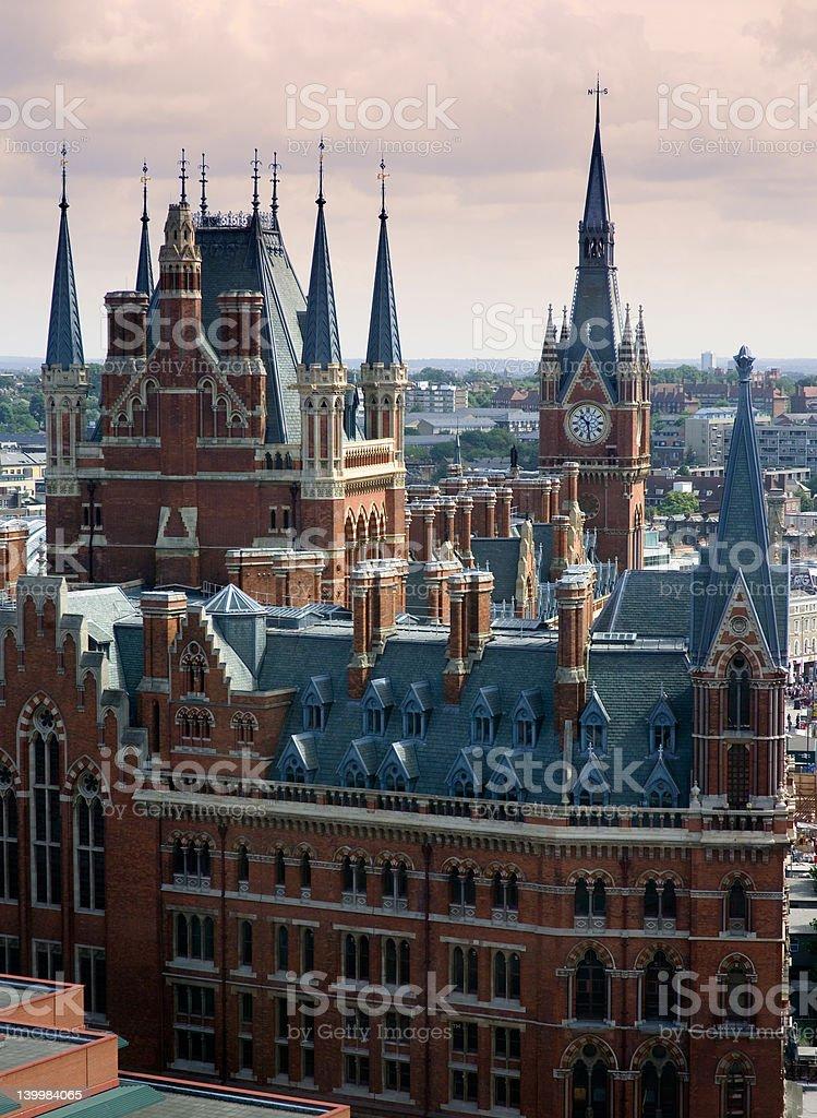 St Pancras Chambers stock photo