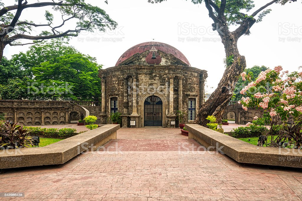 St Pancratius Chapel, Manila, Philippines stock photo