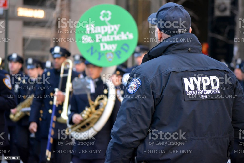St. Patick's Day Parade stock photo