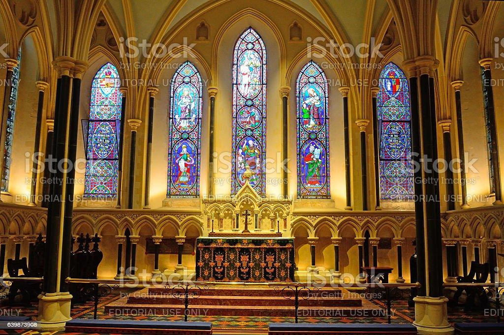 St. Patrick Cathedral, Dublin, Ireland stock photo