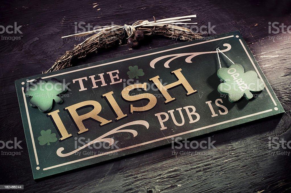 St. Patrick Holiday Symbol royalty-free stock photo