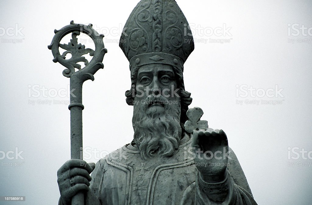 st patrick stock photo