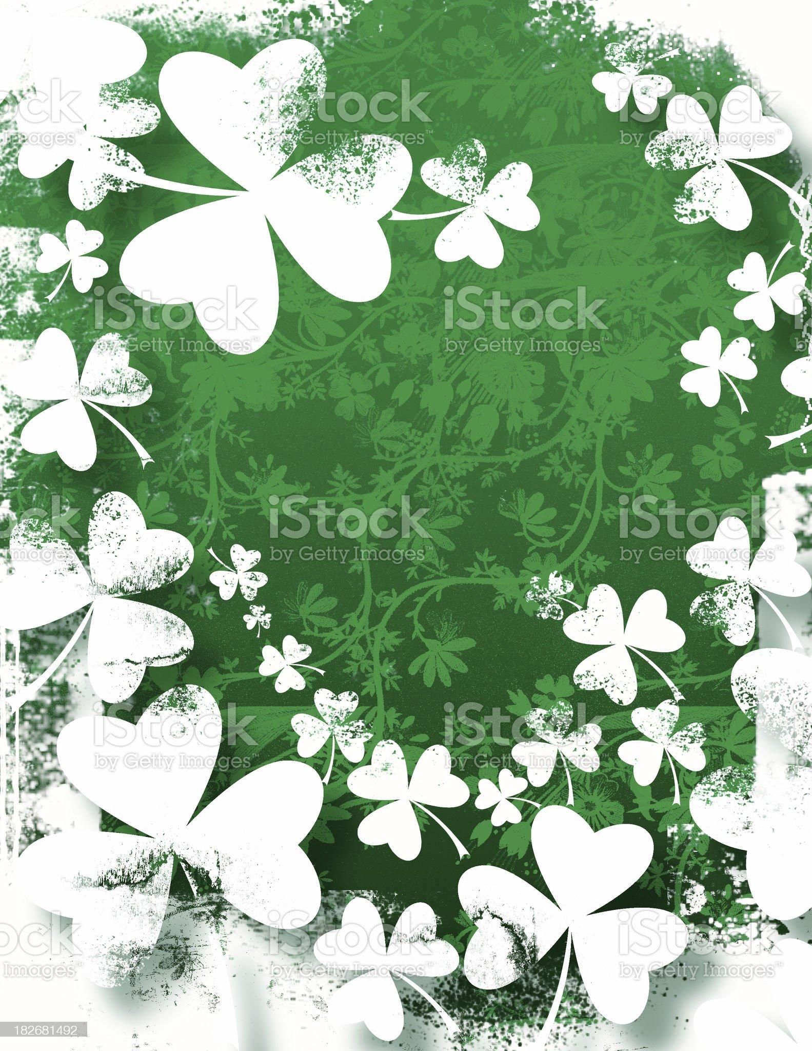 St. Patricks Background royalty-free stock photo