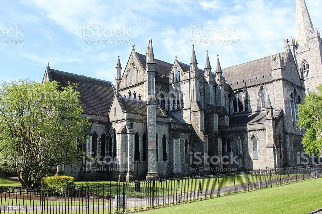 St Patrick's Cathedral, Dublin, Ireland stock photo