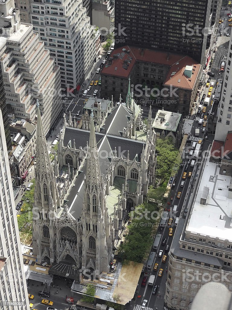 St. Patricks Cathedral stock photo