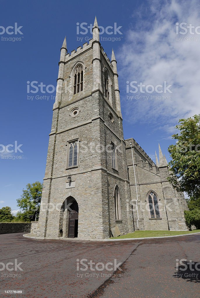 St Patrick's Church of Ireland Cathedral royalty-free stock photo