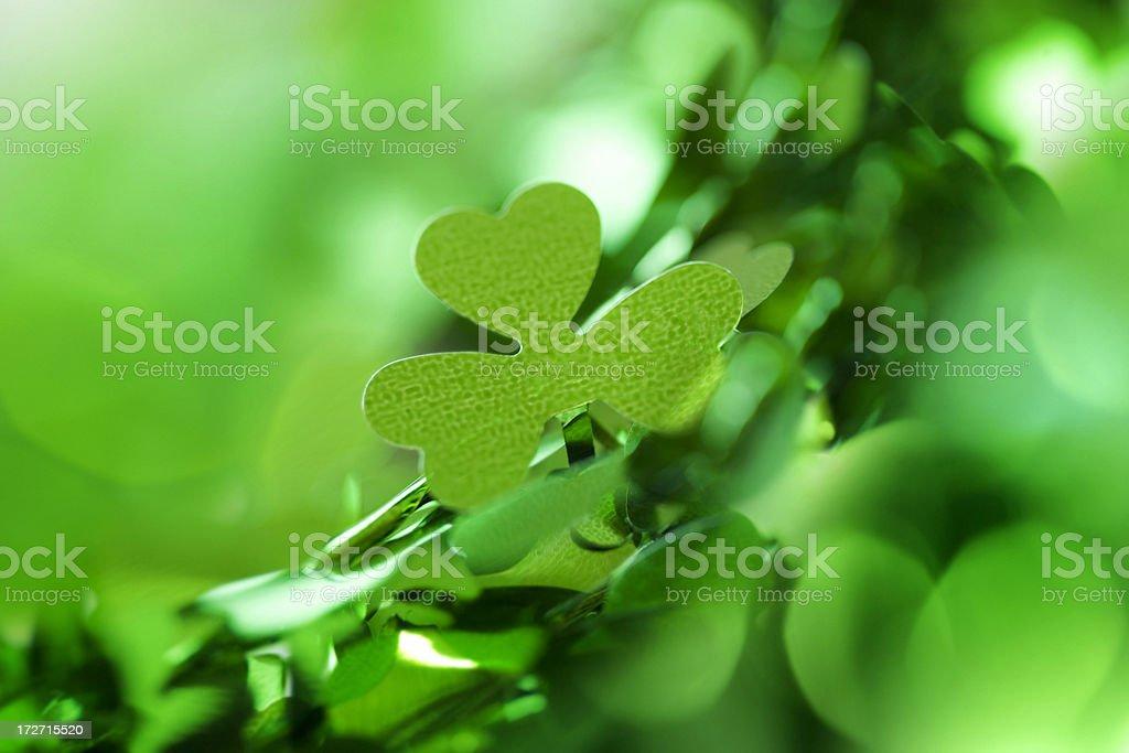 St Patricks Day Abstract royalty-free stock photo
