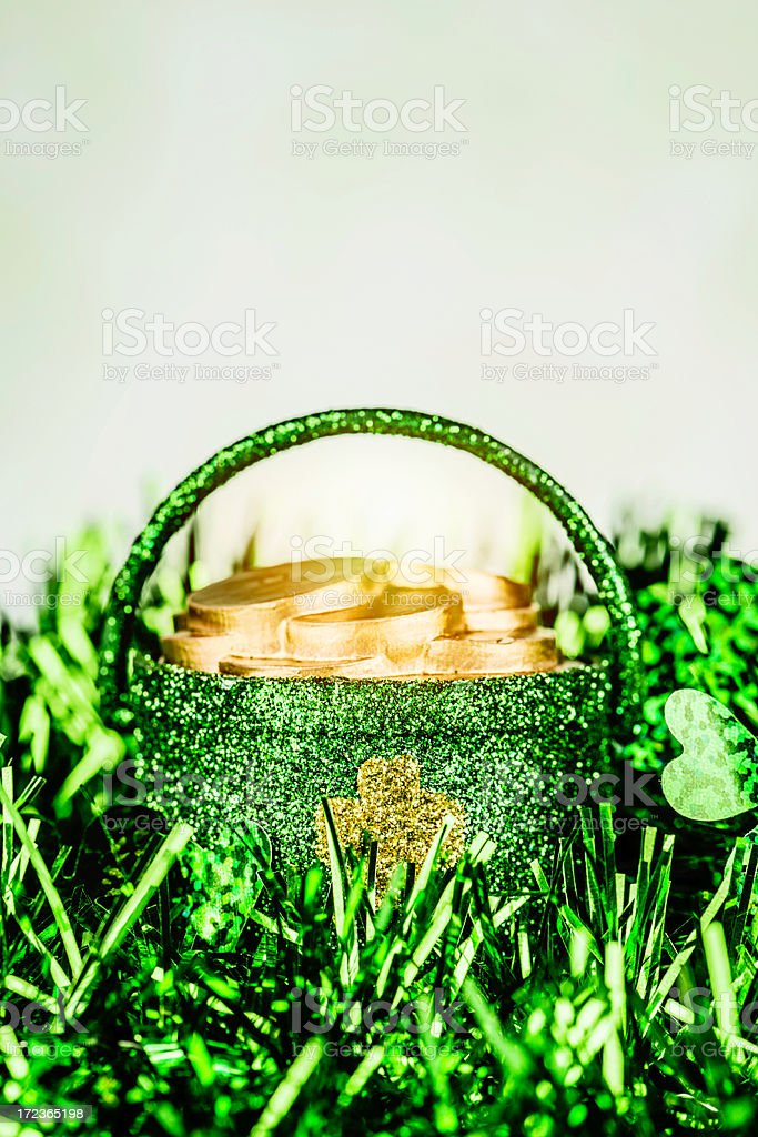 St. Patrick's Day Background royalty-free stock photo