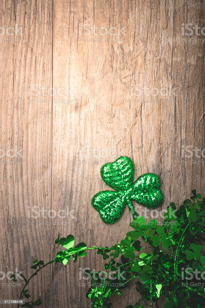 St Patricks Day Background stock photo